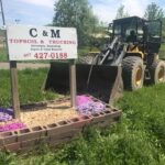 C&M Topsoil and Trucking Sign